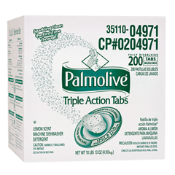 PALMOLIVE TRIPLE ACTION TABS MACHINE DISHWASHING DETERGENT