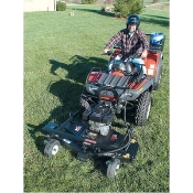 ATV Front Mount Finish Mower — 50in