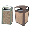 DOME TOP CONTAINERS SABLE COLORED